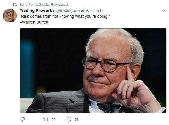 Warren Buffet and risk